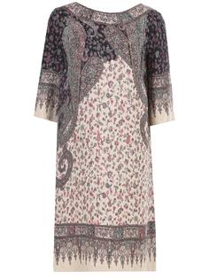 Платье трикотажное с принтом Etro
