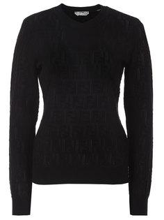 Пуловер трикотажный Fendi