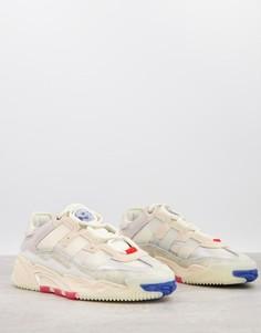 Белые кроссовки adidas Originals Niteball-Белый