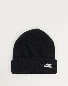 Черная шапка-бини Nike SB-Черный
