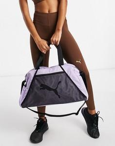 Спортивная сумка сиреневого цвета PUMA ESS-Сиреневый