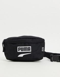 Черная сумка Puma Plus Portable II-Черный цвет