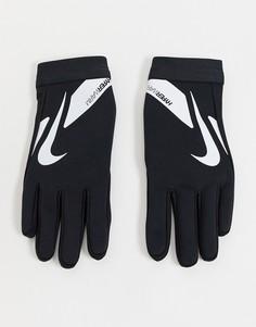 Черные перчатки Nike Football-Черный цвет