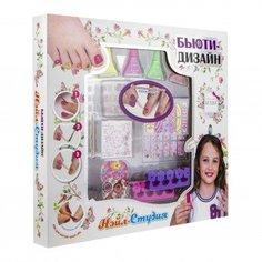 """Набор для дизайна ногтей """"Нэйл-Студия"""" с лаками для ногтей Lukky"""