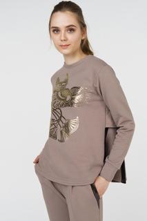 Джемпер женский Grishko AL - 3472 коричневый 42
