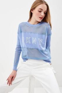 Свитшот женский DKNY DP8T6177 голубой 42-44