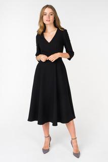 Повседневное платье женское adL 12433506000 черное 46