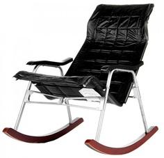 Кресло-качалка OLSA Кресло-качалка Белтех черное БХ249-МТ002 Ольса