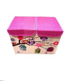 Складной короб для хранения Markethot Совушки Четыре совы, 47х31х34 см