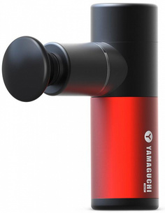 Перкуссионный массажер Yamaguchi Massage Gun Mini (Black/Red)