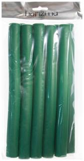 Бигуди-бумеранги Harizma Зелёные 22х240 мм