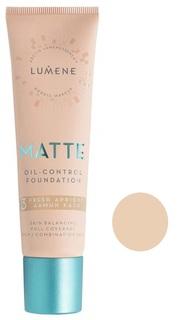 Тональный крем Lumene Matte Oil-control Foundation 1 Classic Beige 30 мл