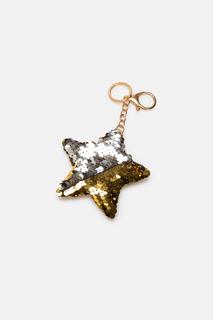 Брелок Звезда с пайетками Acoola для детей цв. разноцветный