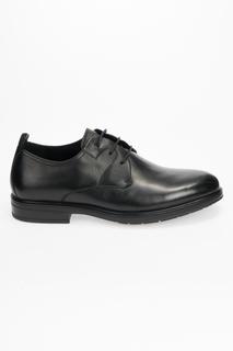 Туфли мужские Dino Ricci 358-83-03 черные 44 RU