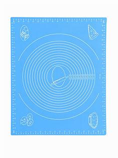 Силиконовый коврик для раскатывания теста, 50х40 см (Цвет: Синий ) Markethot