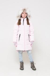 Пальто Crockid для девочек цв. розовый р-р. 122-128