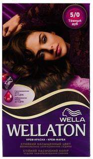 Краска для волос Wella Wellaton 5/0 Темный дуб 50 мл