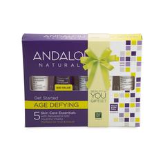 Набор Andalou Naturals , из 5 минипродуктов «комплексный антивозрастной уход»