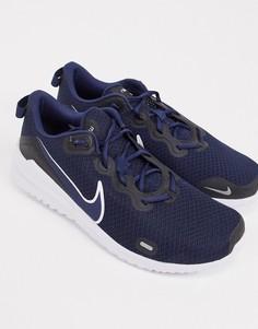 Темно-синие кроссовки Nike Running Renew Ride-Темно-синий