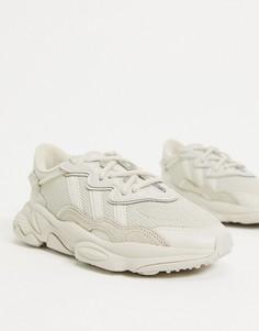 Бежевые кроссовки adidas Originals Ozweego-Бежевый