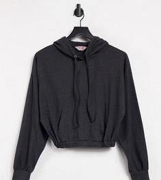 Oversized-худи темно-серого цвета Catch Exclusive-Серый