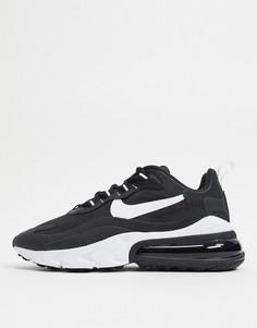 Черно-белые кроссовки Nike Air Max 270 React-Черный