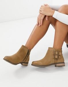 Низкие ботинки коньячного цвета с пряжками Barbour-Коричневый цвет