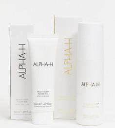 Набор средств по уходу за кожей с гликолевой кислотой и ретинолом ALPHA-H Glycolic and Retinol Power Couple – СКИДКА -20%-Бесцветный