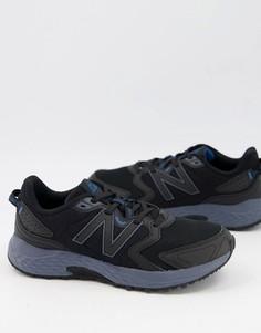 Черные кроссовки New Balance Trail 410-Черный цвет