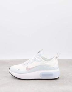 Белые кроссовки Nike Air Max Dia-Зеленый цвет