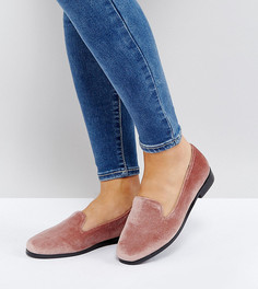 Туфли на плоской подошве для широкой стопы ASOS MALBEC-Бежевый