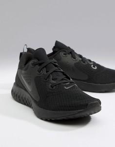 Черные кроссовки Nike Running react rebel aa1625-002-Черный