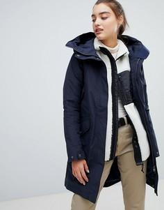Темно-синее пальто Didriksons Agnes-Темно-синий
