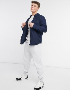Мягкая фланелевая рубашка Ben Sherman-Голубой