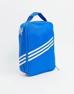 Голубая маленькая сумка adidas Originals-Голубой