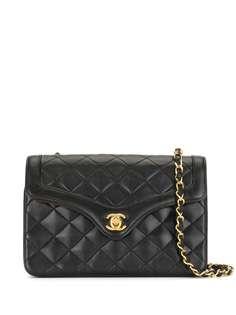 Chanel Pre-Owned стеганая сумка на плечо 1985-1990 годов