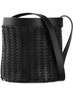 Paco Rabanne сумка-мешок с металлическим переплётом