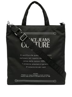 Versace Jeans Couture сумка-тоут Etichetta