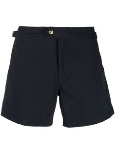 Tom Ford плавки-шорты с застежкой на пуговице