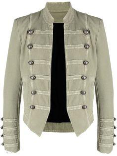 Balmain пиджак в стиле милитари