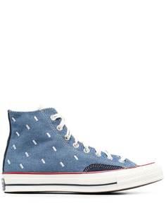 Converse кеды на шнуровке с принтом