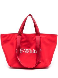 Off-White маленькая сумка-тоут Commercial