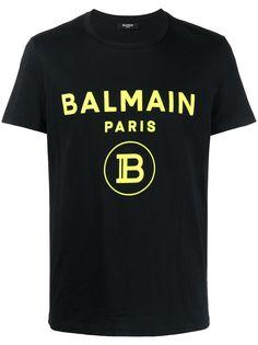 Balmain футболка с короткими рукавами и логотипом