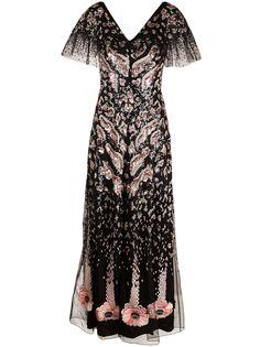 Temperley London вечернее платье Candy с пайетками