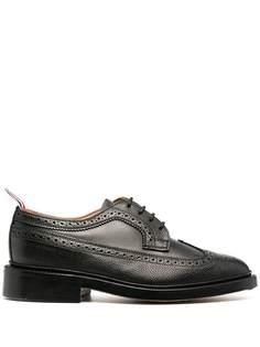 Thom Browne туфли броги из зернистой кожи