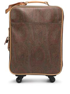 Etro чемодан с принтом пейсли