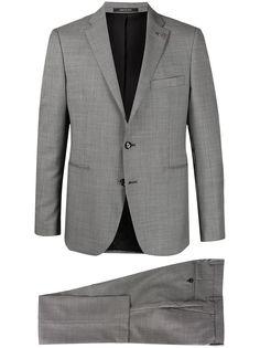 Tagliatore костюм-двойка с однобортным пиджаком