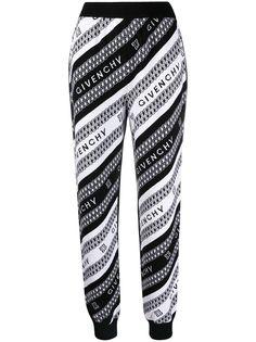 Givenchy брюки с логотипом