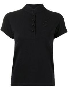 Shanghai Tang рубашка поло с вышивкой