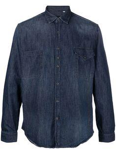 Costumein джинсовая рубашка Alex с нагрудными карманами